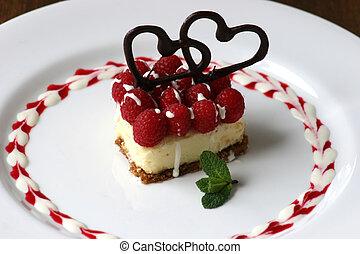 Valentines Dessert - Small Cheesecake