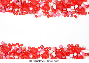 valentines, dulce, frontera