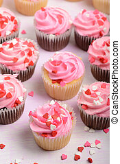 valentines dzień, cupcakes