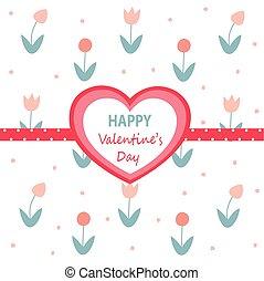 valentines dzień, karta