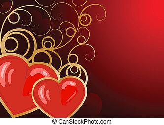 valentine\'s, dzień, tło