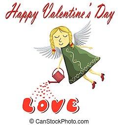 Valentines Fairy angel Blond
