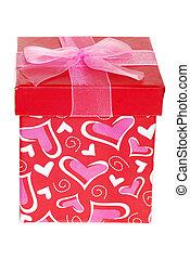 valentines, geschenkschachtel