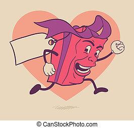 valentines, giftdoos, karakter