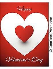 Valentines Greeting card design vector