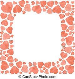 Valentines greeting card, vector illustration