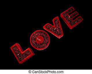 valentines, gyertya