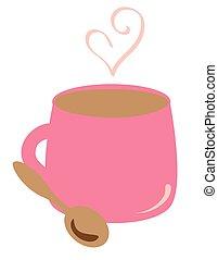 Valentines Heart Coffee