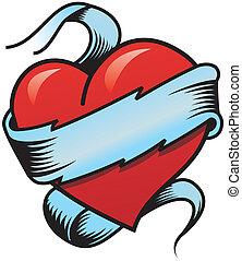 Valentine\'s Heart - Illustration of a valentine\'s heart...