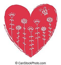 Valentine's Heart illustration