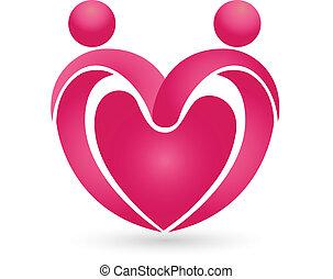 Valentines heart logo