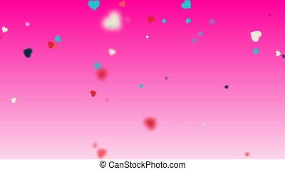 Valentines Hearts background 9