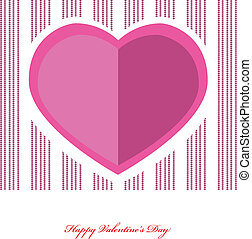 Valentines hearts. Vector illustration.