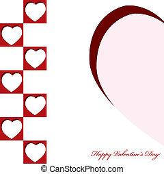 Valentines hearts. Vector illustration.