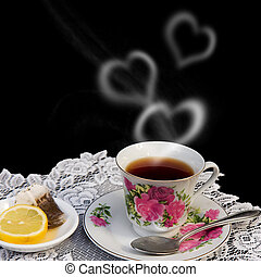 Valentines in Steam From TEA
