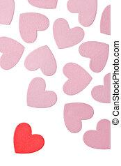 valentine\\\'s, jour, cœurs