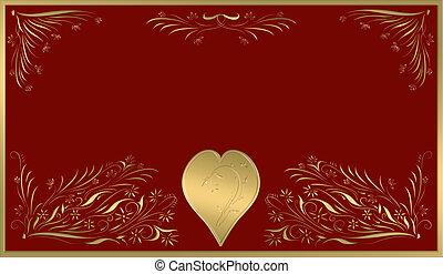 valentines, karte