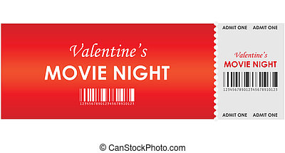 valentine's movie night