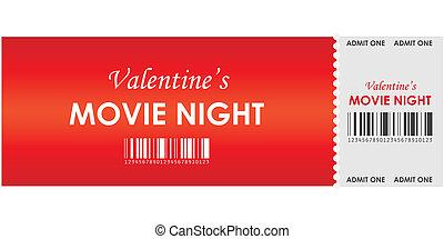 valentine's movie night