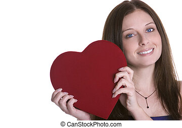 valentines, nő