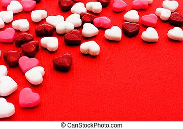 valentines nap, cukorka, háttér