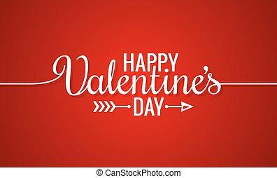 valentines nap, egyenes, szüret, felirat, háttér
