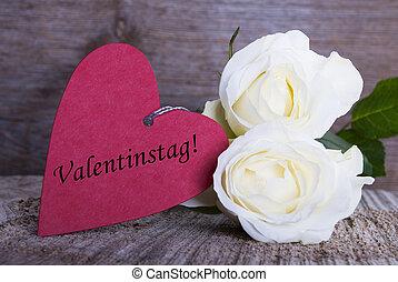 valentines, Nap, háttér, címke