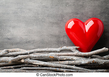 valentines nap, háttér, noha, hearts.