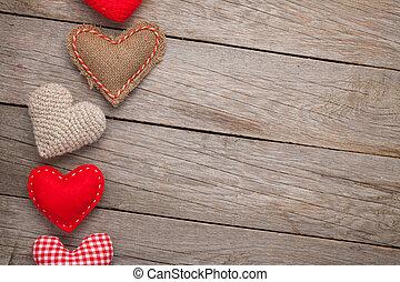 valentines nap, háttér, noha, játékszer, piros