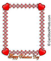 valentines nap, határ, piros