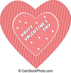 valentines, Nap, kártya