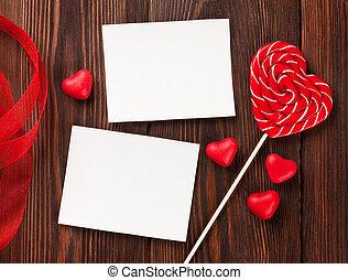 valentines, Nap, kártya, köszönés