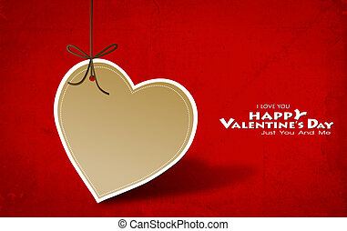 valentine's nap kártya, noha, szív, dolgozat