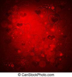 valentines nap, piros háttér