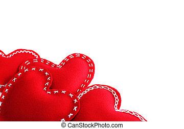 valentines nap, piros