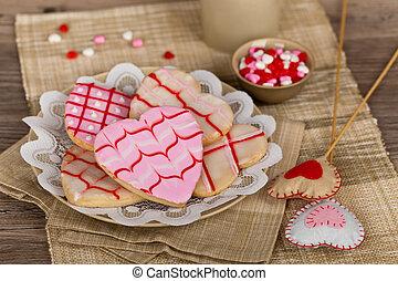 valentines nap, süti
