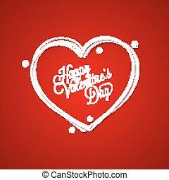 valentines nap, szüret, felirat, kártya, háttér