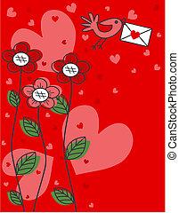 valentines nap, vagy, más, ünneplés