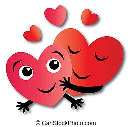 valentines nap, vagy, más, szeret, ünneplés