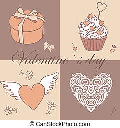 valentine`s pattern