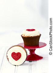 valentines, petits gâteaux