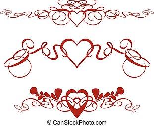 valentines, randjes