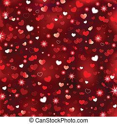 Valentines Sparkling Background