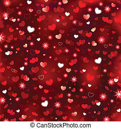 Valentines Sparkling Background