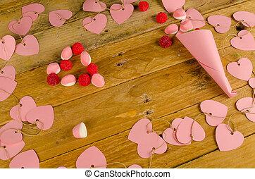 Valentines still life