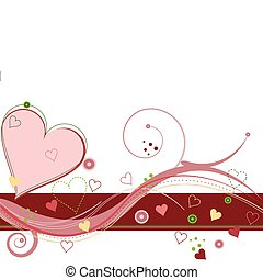 Valentines Sweetheart - Abstract Valentines background...