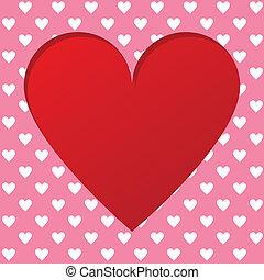 valentines, tarjeta