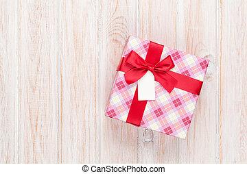 valentinestag, geschenkschachtel