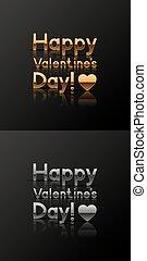 valentine%u2019s, giorno, cartoline auguri