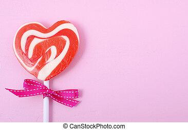 valentinkort dag, godis, lycklig